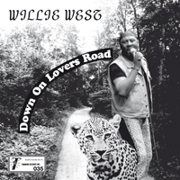 WILLIE WEST & THE HIGH SOCIETY BROTHERS - Down On Lovers Road : 7inch