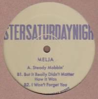 MELJA - Steady Mobbin' EP : 12inch