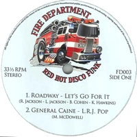 VARIOUS - Fire Department Vol.3 - Blazin' Hot Disco Funk & Boogie : 12inch