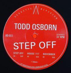 TODD OSBORN - Step Off : 12inch
