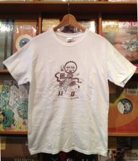 RIE LAMBDOLL×LLORONA'S - Collaboration T Shirt White Size L : T-SHIRT