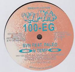 SVN & AU feat. PALEO - On Tempo/It Takes Time : 12inch