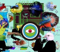 KILLER-BONG - SAX BLUE 6 : BLACK SMOKER <wbr>(JPN)