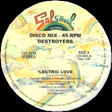 DESTROYERS - Lectric Love : 12inch