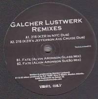 GALCHER LUSTWERK - Nu Day Remixes EP (Kai Alce & Alvin Aronson) : 12inch