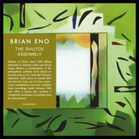 BRIAN ENO - The Shutov Assembly : All Saints <wbr>(UK)