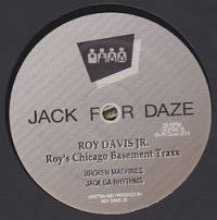ROY DAVIS JR. - Roy's Basement Traxx : 12inch