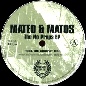 MATEO & MATOS - The No Props EP : 12inch