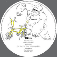 MIKE SHANNON - 5 Years Of Love EP : HALF BAKED (UK)