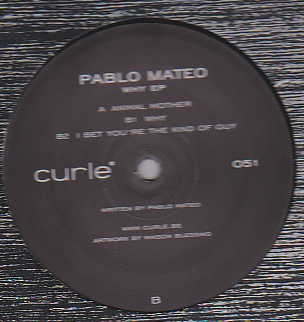 PABLO MATEO - WHY EP : CURLE (BEL)