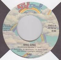 INSTANT FUNK / GAZ - The Funk Is it On/ Sing Sing : 7inch
