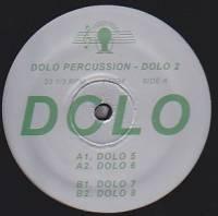 DOLO PERCUSSION - Dolo 2 EP : 12inch