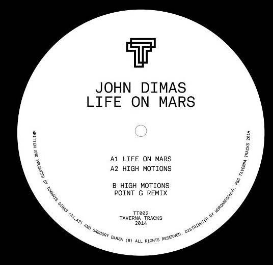 JOHN DIMAS - Life On Mars : 12inch