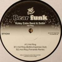 KOTEY EXTRA BAND AND BOTTIN - Hot Ring : BEAR FUNK (UK)