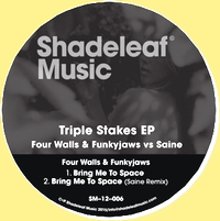 FOUR WALLS & FUNKYJAWS vs SAINE - TRIPLE STAKES EP : 12inch