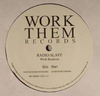 RADIO SLAVE - Werk Remixes : 12inch