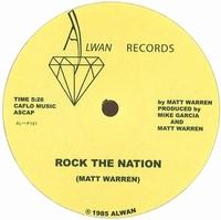 MATT WARREN - ROCK THE NATION : 12inch