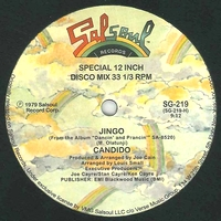 CANDIDO - Jingo / Thousand Finger Man : 12inch