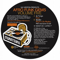 NIK WESTON presents - Afro Funk Gems Volume.5 : 7inch