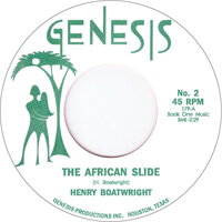 HENRY BOATWRIGHT - The African Slide : 7inch