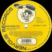 KIM ENGLISH - Learn 2 Luv : NERVOUS (US)