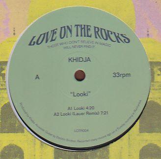 KHIDJA - Looki (LAUER, FANTASTIC MAN Remix / AFRICAINE808 Live Dub) : 12inch