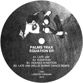PALMS TRAX - Equation EP : 12inch