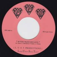 L.U.S.T. PRODUCTIONS - If You Want My Love /<wbr> You That I Need : PEOPLES POTENTIAL UNLIMITED <wbr>(US)