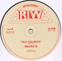 MACKA B - Talk Too Much  / Salute : 12inch