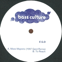 E.G.D - Mass Majestic EP : 12inch