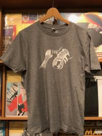 LOBSTER THEREMIN TEE - Lobster Theremin LOGO T-Shirts  - Gray / Men's / S-Size : WEAR