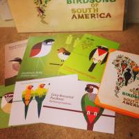 - - A Guide To The Birdsong Of South America POSTCARD : POSTCARD x 12