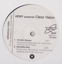 ADNY - Clear Vision : WAVE MUSIC (US)