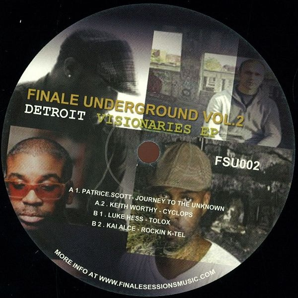 VARIOUS - Finale Underground Vol.2 - Detroit Visionaries EP : Finale Sessions (US)