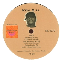 KEN GILL - Love Moon : ALLEVIATED (US)