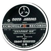 BOYD JARVIS - Stomp EP : 12inch