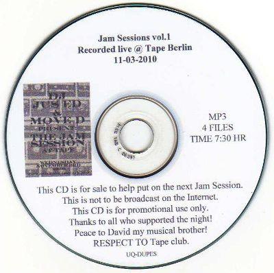 JUS-ED & MOVE D - Jam Session 1 : CD