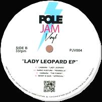 VARIOUS - Lady Leopard EP : POLE JAM VINYL (UK)