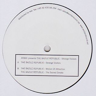 AYBEE PRES THE BAZILE REPUBLIC - Strange Visitors EP : 12inch