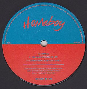 HOMEBOY - Kaprije : House Is Ok (GER)