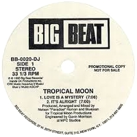 TROPICAL MOON - Love Is A Mystery EP : BIG BEAT (US)
