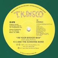 K C & THE SUNSHINE BAND - I'M Your Boogie Man (Todd Terje Edit) : 10inch YELLOW VINYL
