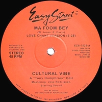 CULTURAL VIBE - Ma Foom Bey : 12inch