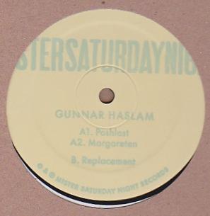 GUNNAR HASLAM - Margareten EP : 12inch
