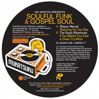 NIK WESTON presents - Soulful Funk & Gospel Soul : 7inch