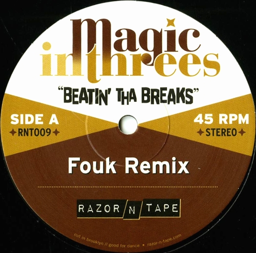 MAGIC IN THREES - Beatin' Tha Breaks : RAZOR N TAPE (US)