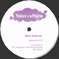 MARK AMBROSE - Groove X EP : 12inch