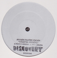 ANALOG PLAYERS SOCIETY - Coule'Ba : 12inch