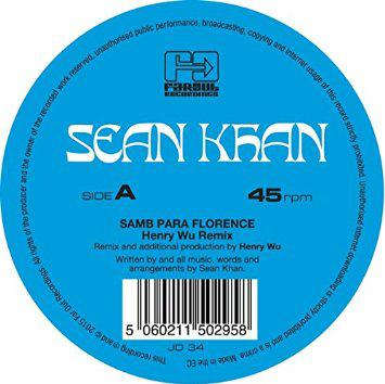 SEAN KHAN - Samba Para Florence / Things To Say : 12inch
