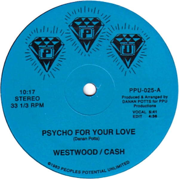 WESTWOOD / CASH - Psycho For Your Love : 12inch